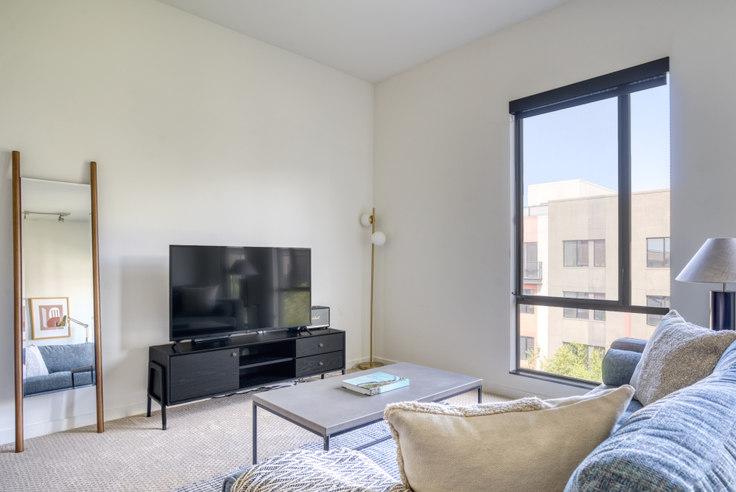 Studio furnished apartment in Misora, 388 Santana Row 629, Santana Row, San Francisco Bay Area, photo 1