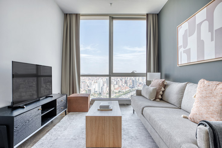 2 bedroom furnished apartment in Metropol İstanbul - 712 712, Doğu Ataşehir, Istanbul, photo 1