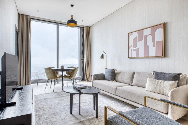 2 bedroom furnished apartment in Skyland - 713 713, Maslak, Istanbul, photo 1