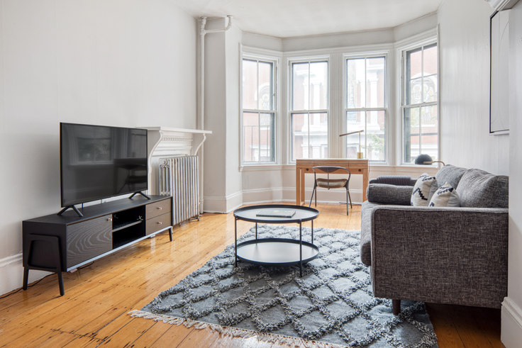 2 bedroom furnished apartment in 14 Union Park Street 460, South End, Boston, photo 1