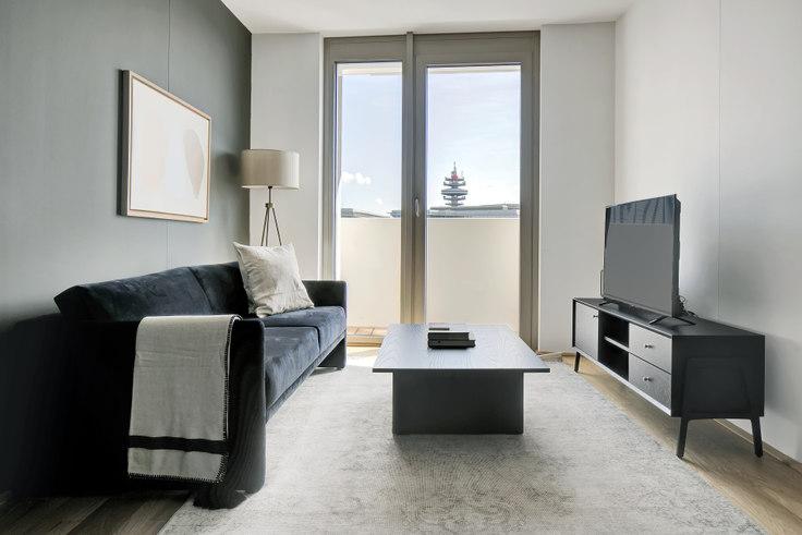 1 bedroom furnished apartment in Arsenalstraße 8 46, 10th district - Favoriten, Vienna, photo 1