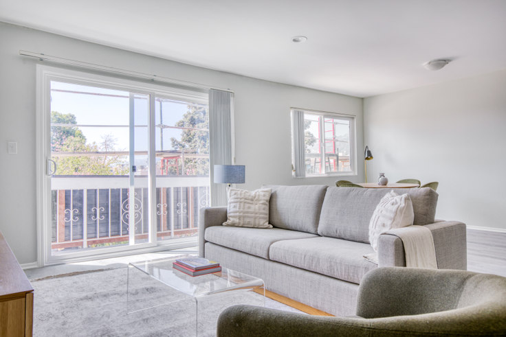 2 bedroom furnished apartment in 616 N Sweetzer Ave 520, Fairfax, Los Angeles, photo 1