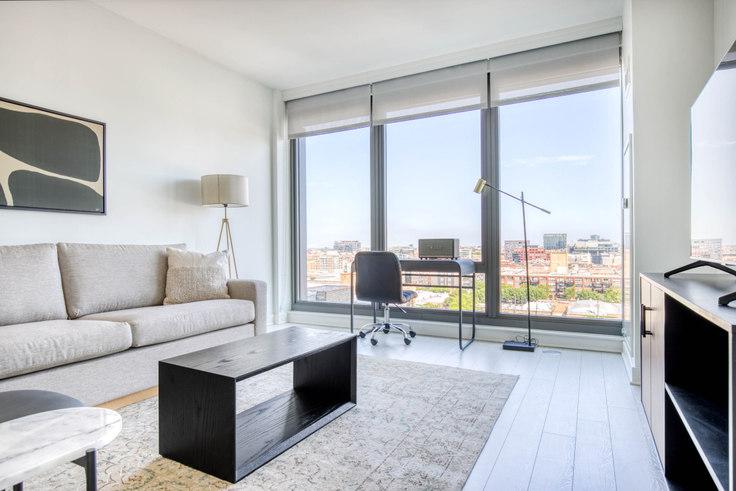 1 bedroom furnished apartment in Landmark West Loop, 1035 W Van Buren St 435, West Loop, Chicago, photo 1