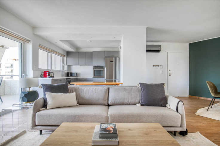 2 bedroom furnished apartment in Melitos 1089, Nea Smyrni, Athens, photo 1