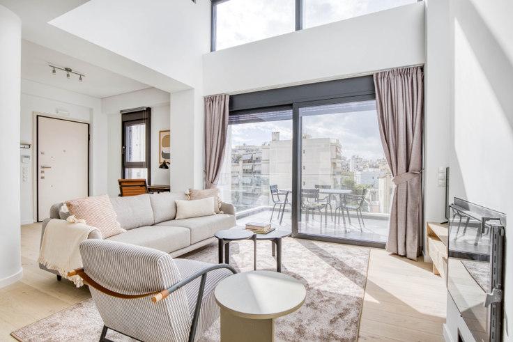 2 bedroom furnished apartment in Endimionos III 1090, Palaio Faliro, Athens, photo 1