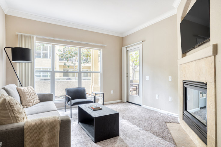 1 bedroom furnished apartment in The Carlyle Apartments, 4503 Carlyle Ct 641, Santa Clara, San Francisco Bay Area, photo 1