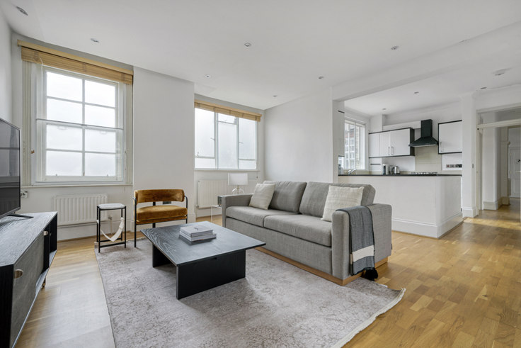 2 bedroom furnished apartment in Wimpole St 85, Marylebone, London, photo 1