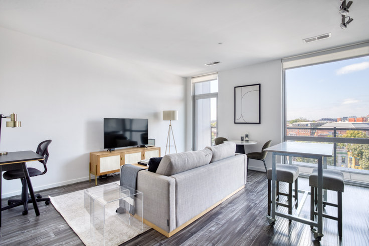 1 bedroom furnished apartment in The Shay, 1924 8th St NW 311, Shaw, Washington D.C., photo 1