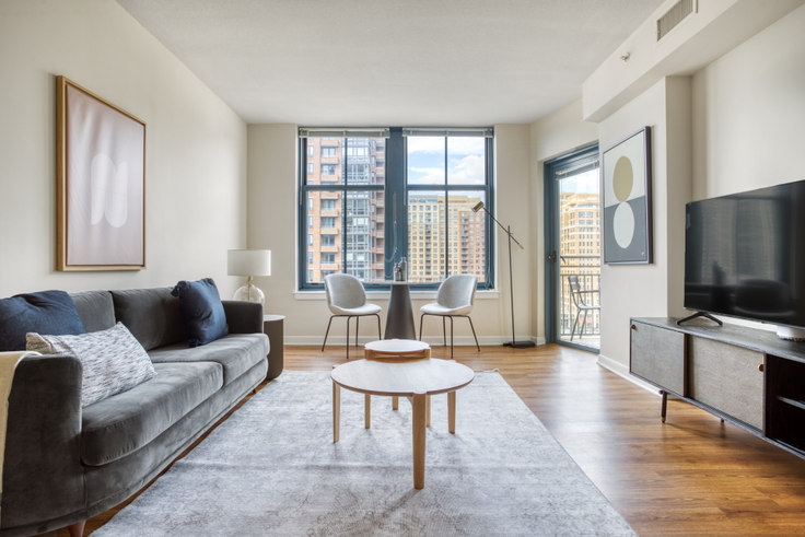 1 bedroom furnished apartment in The Gramercy, 550 14th Rd S 312, Pentagon City, Washington D.C., photo 1