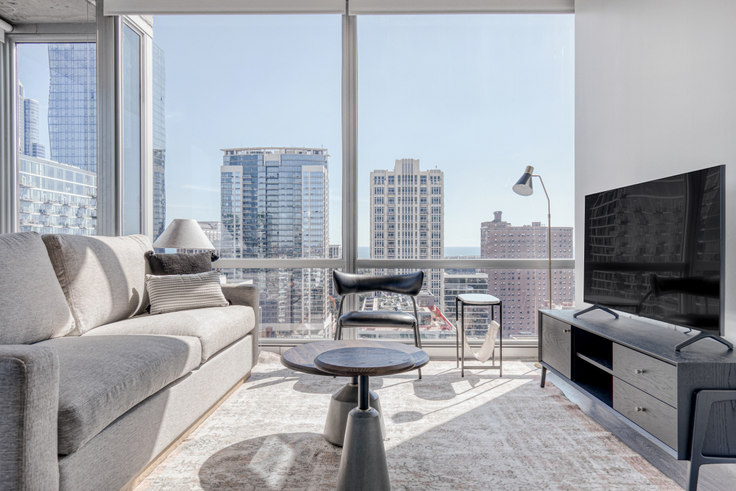 2 bedroom furnished apartment in 1401 S State St 441, South Loop, Chicago, photo 1