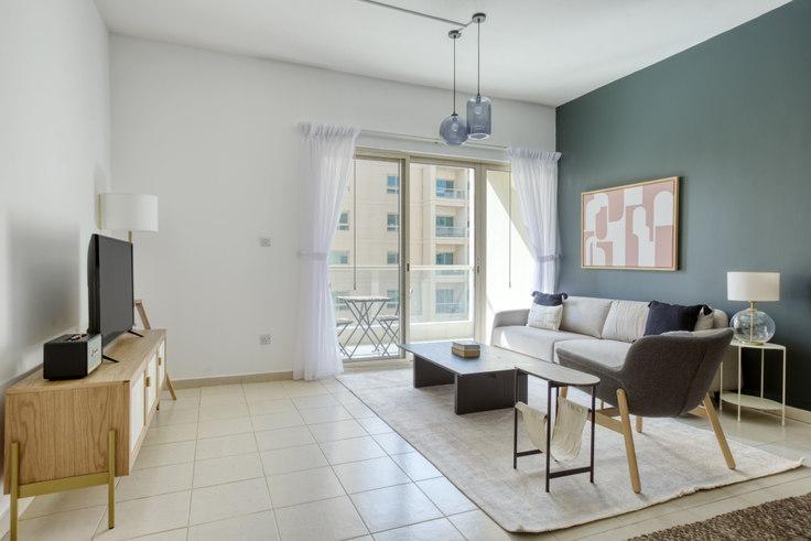 1 bedroom furnished apartment in Al Dhafrah 4 Apartment I 849, Al Dhafrah 4, Dubai, photo 1