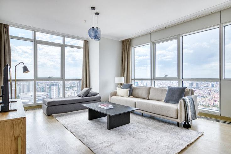 3 bedroom furnished apartment in Varyap Meridien - 717 717, Batı Ataşehir, Istanbul, photo 1