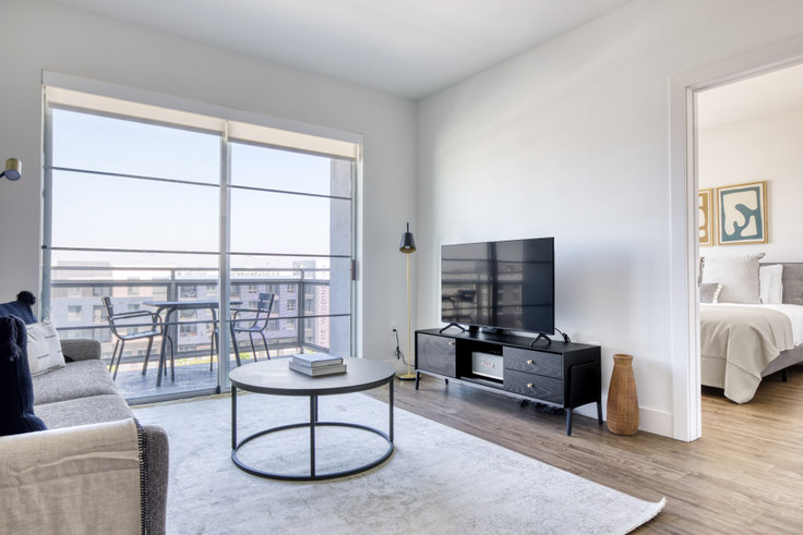 2 bedroom furnished apartment in Living At NoHo, 11049 McCormick 528, North Hollywood, Los Angeles, photo 1