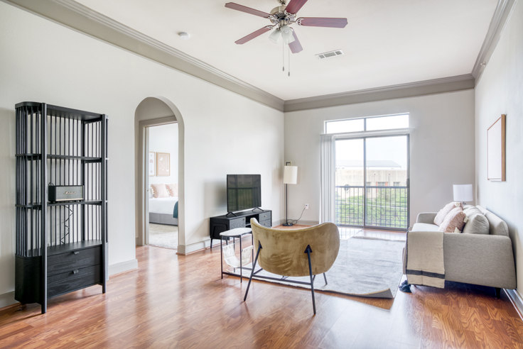 2 bedroom furnished apartment in Residences at the Triangle, 4600 W Guadalupe St 12, Triangle State, Austin, photo 1