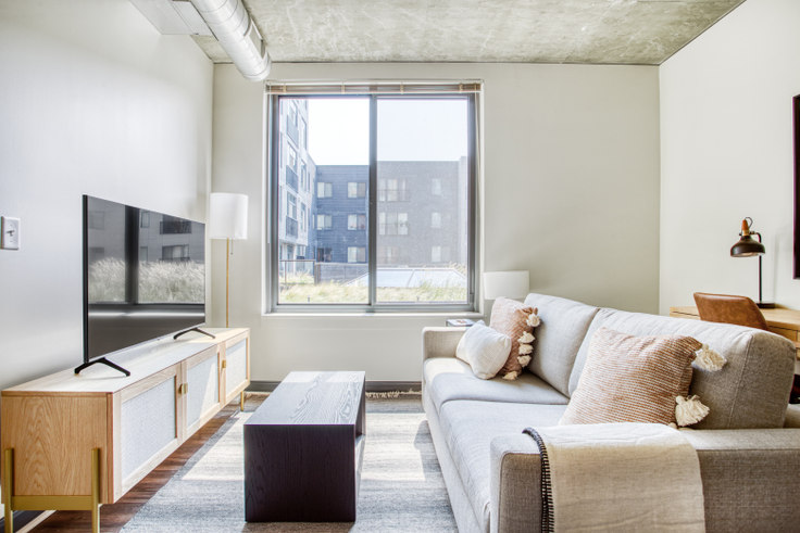 1 bedroom furnished apartment in Anthology, 625 H St NE 317, H Street NE, Washington D.C., photo 1
