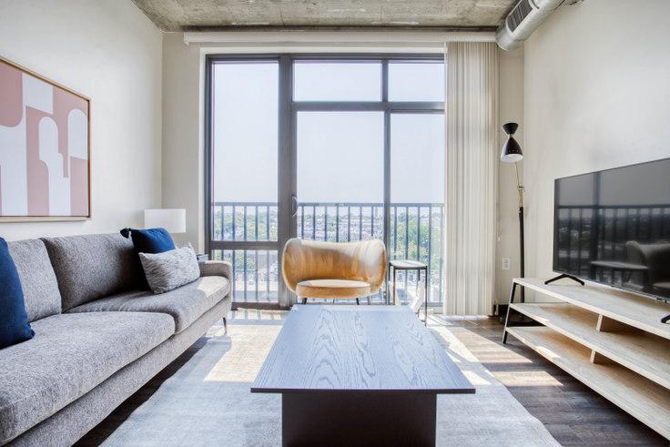 1 bedroom furnished apartment in Anthology, 625 H St NE 318, H Street NE, Washington D.C., photo 1