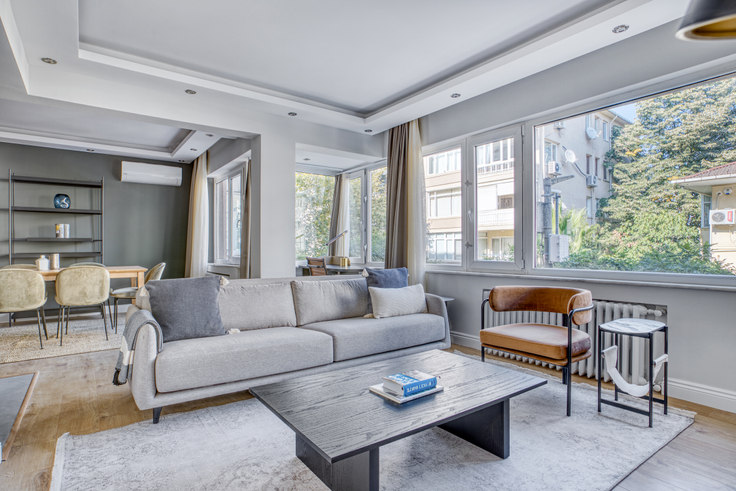 3 bedroom furnished apartment in Konak Apartmanı - 720 720, Etiler, Istanbul, photo 1