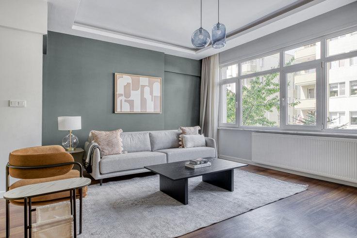 2 bedroom furnished apartment in Güney Apartmanı - 721 721, Etiler, Istanbul, photo 1