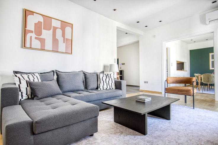 2 bedroom furnished apartment in Rigillis III 1096, Kolonaki, Athens, photo 1