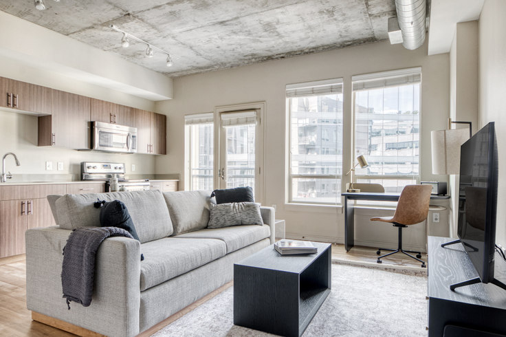 1 bedroom furnished apartment in Cadence at Union Station, 1920 17th St 53, LoDo, Denver, photo 1