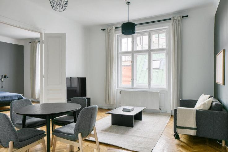 2 bedroom furnished apartment in Himmelpfortstiege 1 52, 9th district - Alsergrund, Vienna, photo 1