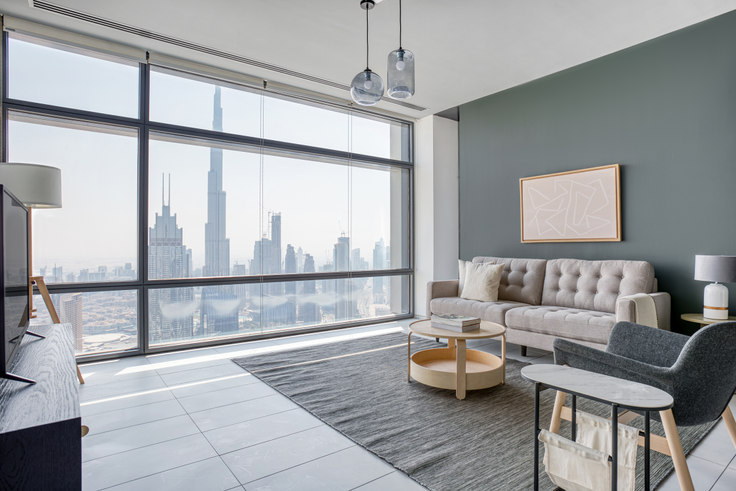 2 bedroom furnished apartment in Index Tower Apartment XXXI 857, Index Tower, Dubai, photo 1