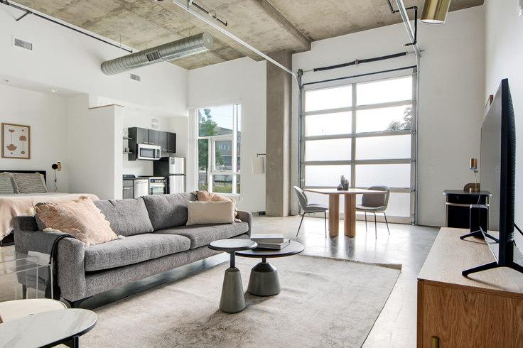 Studio furnished apartment in Ride at RiNo, 3609 Wynkoop St 54, RiNo, Denver, photo 1