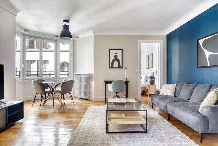 1 bedroom furnished apartment in Rue de l'Étoile 107, Arc de Triomphe, Paris, photo 1