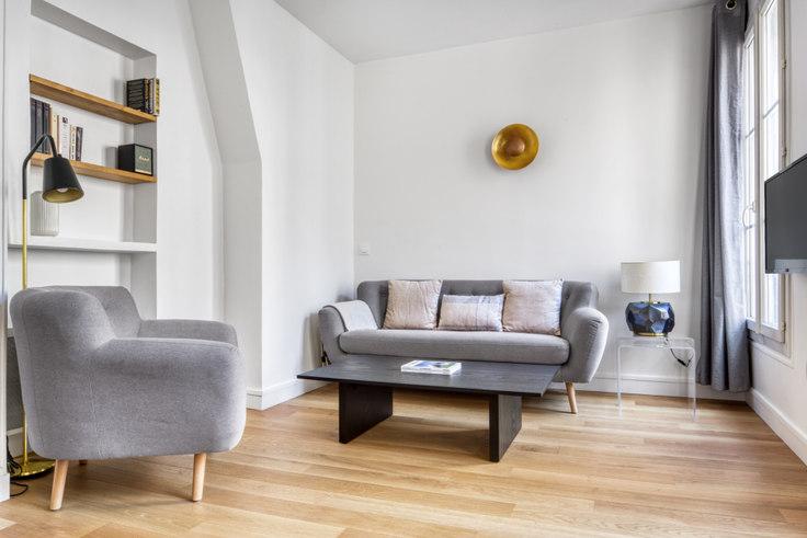 1 bedroom furnished apartment in Quai de Valmy 108, Republique, Paris, photo 1