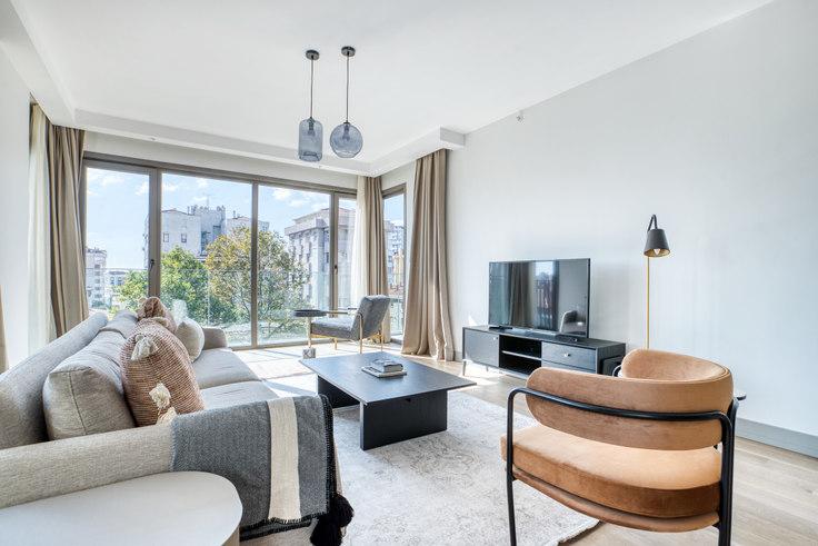 3 bedroom furnished apartment in Mesa Cadde Küçükyalı - 743 743, Kadikoy, Istanbul, photo 1