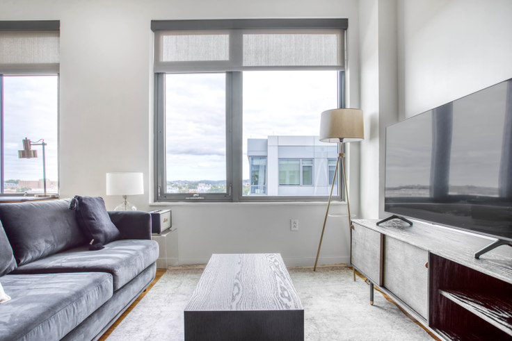 Studio furnished apartment in Twelve12, 1212 4th St SE 326, Navy Yard, Washington D.C., photo 1