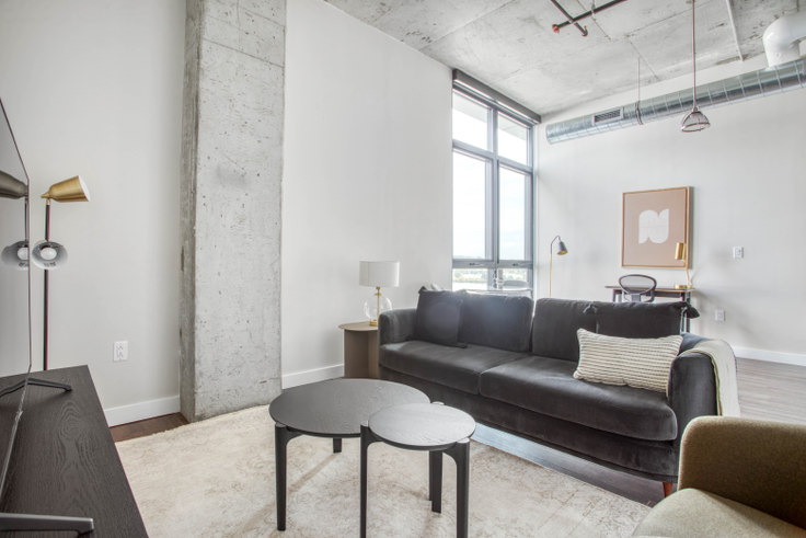 1 bedroom furnished apartment in Guild Lofts, 1346 4th St SE 328, Navy Yard, Washington D.C., photo 1