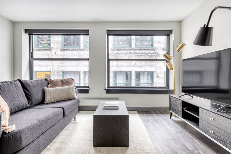 Studio furnished apartment in Millennium on LaSalle, 29 S LaSalle St 469, The Loop, Chicago, photo 1