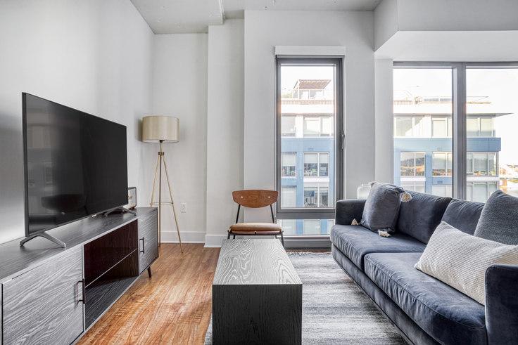 Studio furnished apartment in Watermark, 1900 Half St SW 331, Navy Yard, Washington D.C., photo 1