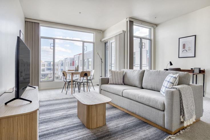 2 bedroom furnished apartment in Park Plaza Apartments, 2865 Park Blvd 675, Palo Alto, San Francisco Bay Area, photo 1