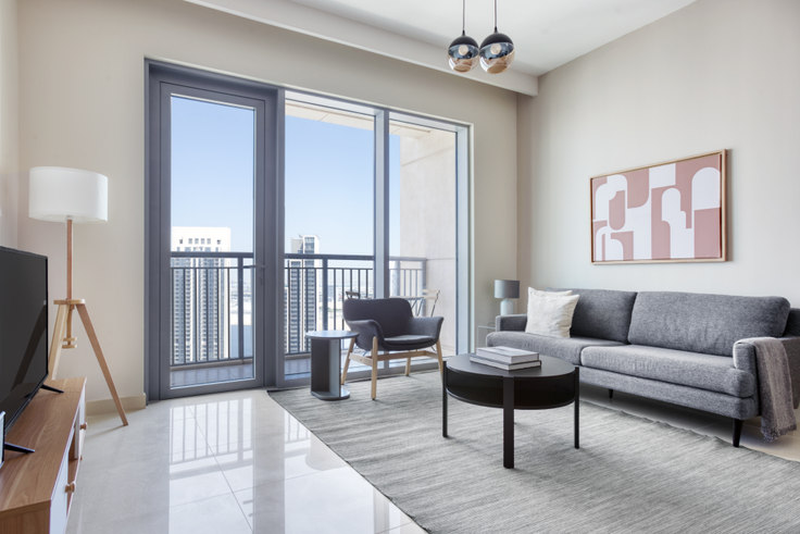 1 bedroom furnished apartment in Harbour Views Tower 1 Apartment I 881, Dubai Creek Harbour, Dubai, photo 1