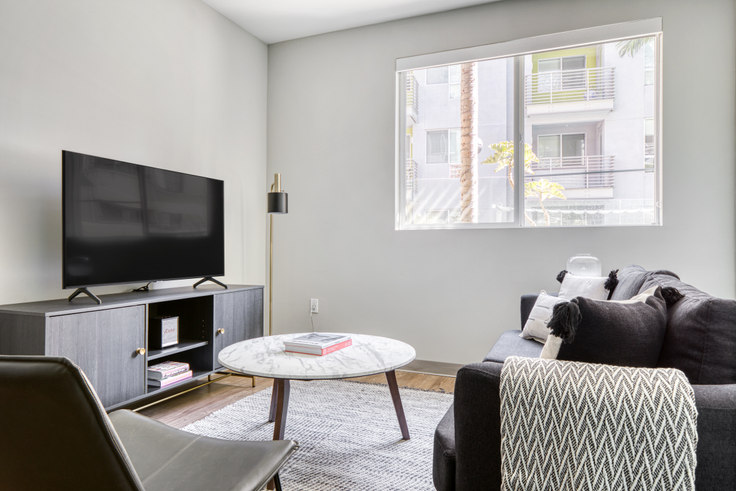 1 bedroom furnished apartment in AVA Little Tokyo, 236 S Los Angeles St 550, Downtown, Los Angeles, photo 1