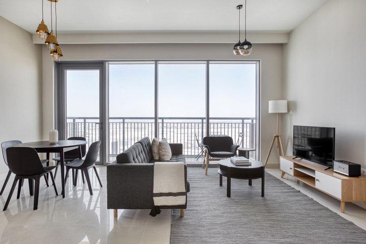 1 bedroom furnished apartment in Harbour Views Tower 1 Apartment II 886, Dubai Creek Harbour, Dubai, photo 1