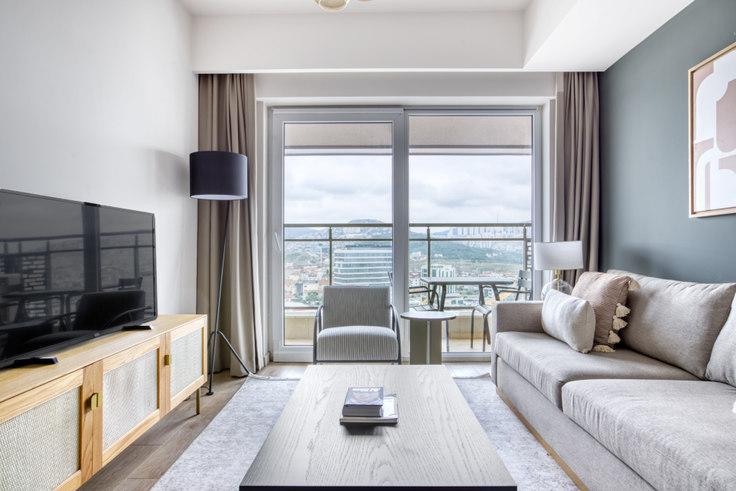 1 bedroom furnished apartment in Nidapark - 761 761, Kadikoy, Istanbul, photo 1