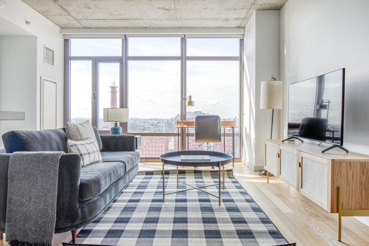 1 bedroom furnished apartment in 315 on A, 315 A St 488, Fort Point, Boston, photo 1