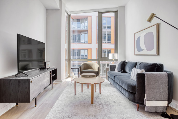 1 bedroom furnished apartment in RiverPoint, 2121 First St SW 345, Navy Yard, Washington D.C., photo 1